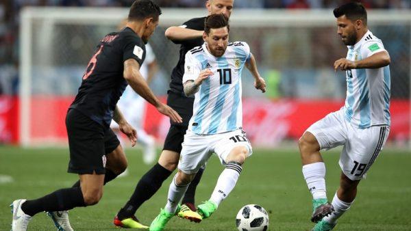 argentina thua thảm croatia với tỉ số 0-3