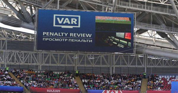 Công nghệ VAR giúp world cúp 2018 phá vỡ kỉ lục đá phạt
