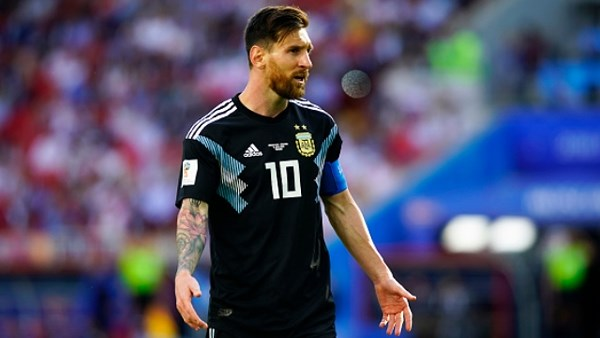 messi says out of real after battle of Iceland