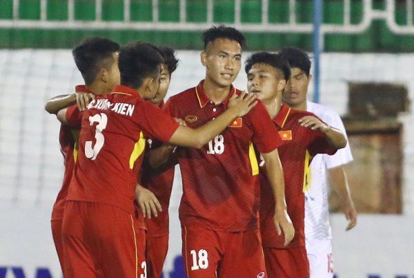 U19 Việt Nam thắng đậm tại trận giao hữu tại Trung Quoc