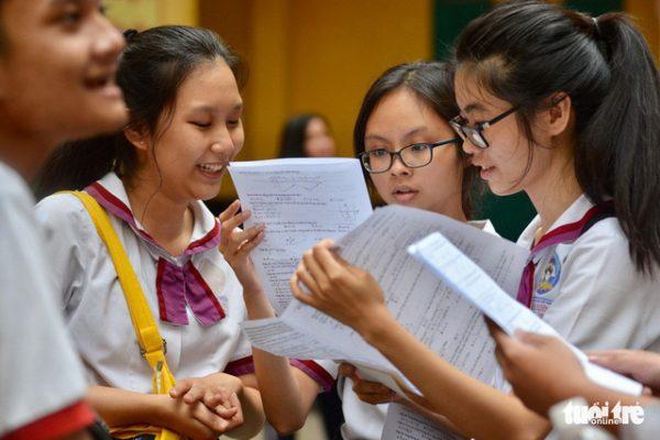 Bộ GD-ĐT chính thức công bố phổ điểm thi THPT Quốc gia 2018