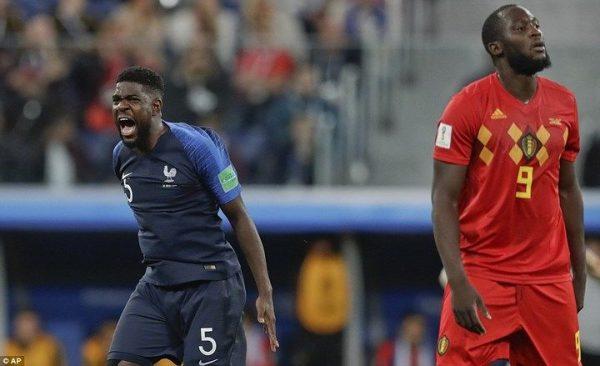 pháp thắng Bỉ, vào chung kết world cup 2018