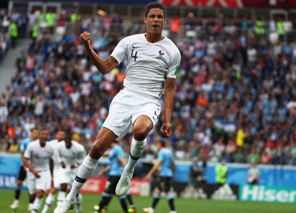 Sự xuất sắc của trung vệ  Pháp Raphael Varane
