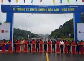 Thông xe tuyến đường Hòa Lạc - Hòa Bình dịp kỷ niệm Ngày Giải phóng Thủ đô