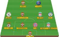 Đội hình tiêu biểu lượt cuối vòng bảng Champions League 2018/19