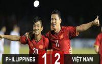 """Tuyển Việt Nam thắng Philippines nhờ pha lập công của """"SONG ĐỨC"""""""