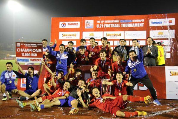 Thắng Myanmar, U21 Việt Nam giành chức vô địch sau loạt sút luân lưu