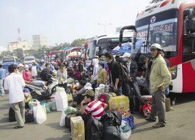 Vé xe khách Tết Nguyên đán 2019 tăng không quá 60%