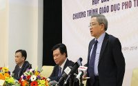 Bộ giáo dục và đào tạo công bố chương trình giáo dục phổ thông mới