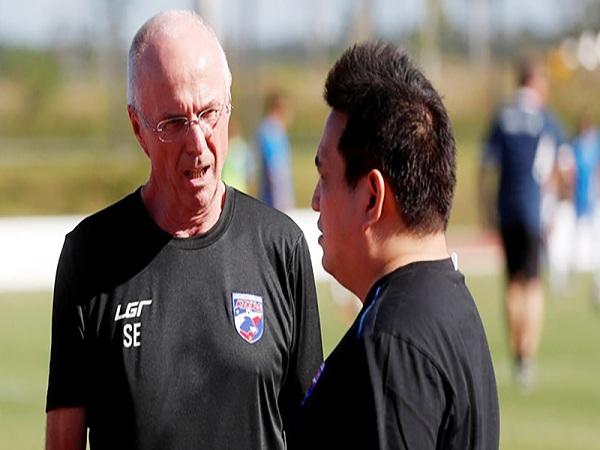 HLV Eriksson chia tay đội tuyển Philippines sau Asian Cup 2019