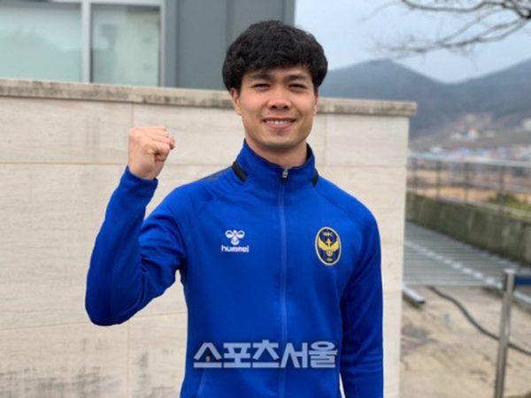 Công Phượng ghi bàn trong trận ra mắt CLB Incheon United