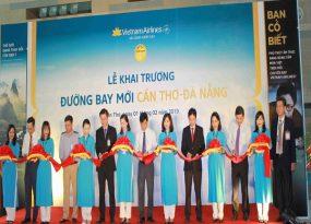 Vietnam Airlines khai trương đường bay Cần Thơ - Đà Nẵng