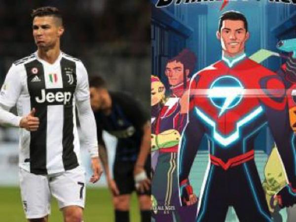 C.Ronaldo hóa thân thành siêu anh hùng trong truyện tranh