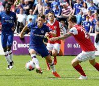 Chelsea đại thắng St Patrick's