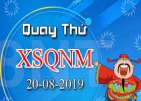 Dự đoán xổ số Quảng Nam ngày 20-08-2019