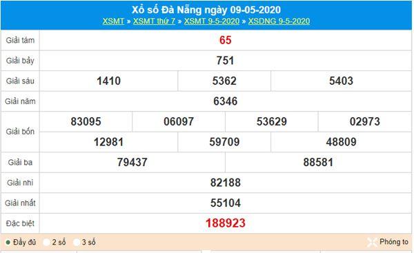 Soi cầu KQXS Đà Nẵng 13/5/2020 cùng các chuyên gia