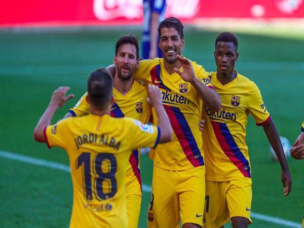 Messi là Vua phá lưới La Liga 2019-2020