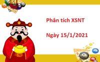 Phân tích XSNT 15/1/2021