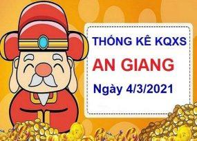 Thống kê KQXSAG ngày 4/3/2021