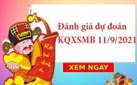 Đánh giá dự đoán KQXSMB 11/9/2021