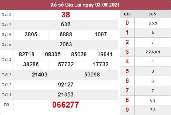 Dự đoán XSGL 10/9/2021 bao lô 2 số đài Gia Lai thứ 6