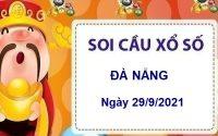 Soi cầu KQXSDNG ngày 29/9/2021