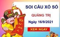 Soi cầu xổ số Quảng Trị ngày 16/9/2021